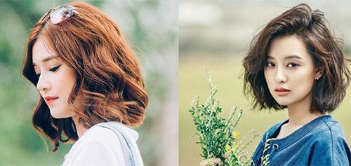 10 Kiểu tóc ngắn xoăn sóng dễ thương phù hợp mọi khuôn mặt - Ảnh 8