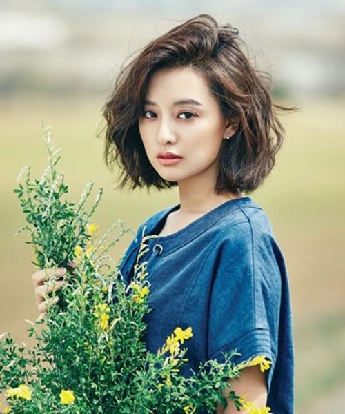 6 kiểu tóc xoăn ngắn được sao Hàn ưa chuộng nhất hiện nay - Ảnh 2
