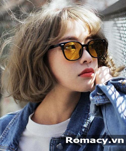Tóc xoăn nhẹ nhàng kiểu Hàn Quốc