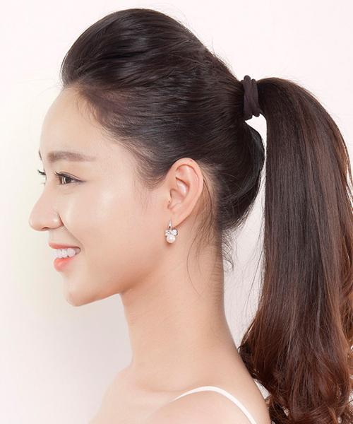 Top 3 kiểu tóc mái Hàn Quốc đẹp nhất cho bạn gái trán ngắn - Ảnh 3