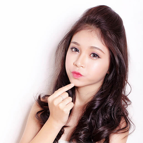 Top 3 kiểu tóc mái Hàn Quốc đẹp nhất cho bạn gái trán ngắn - Ảnh 5