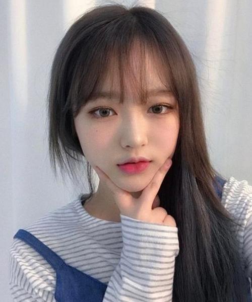 Top 3 kiểu tóc mái Hàn Quốc đẹp nhất cho bạn gái trán ngắn - Ảnh 13