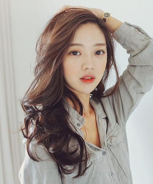 Top 3 kiểu tóc mái Hàn Quốc đẹp nhất cho bạn gái trán ngắn - Ảnh 8