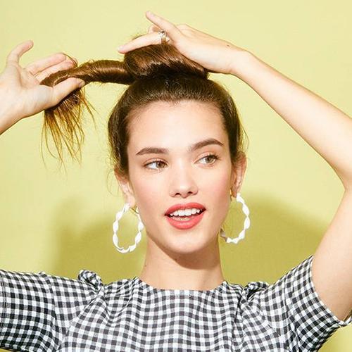Bật mí 3 kiểu tóc búi cao gọn gàng xinh xắn cực dễ làm - Ảnh 5