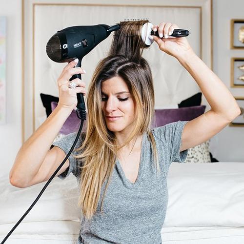 Hô biến tóc mỏng thưa thớt thành tóc dày bồng bềnh qua 4 bước đơn giản - Ảnh 5
