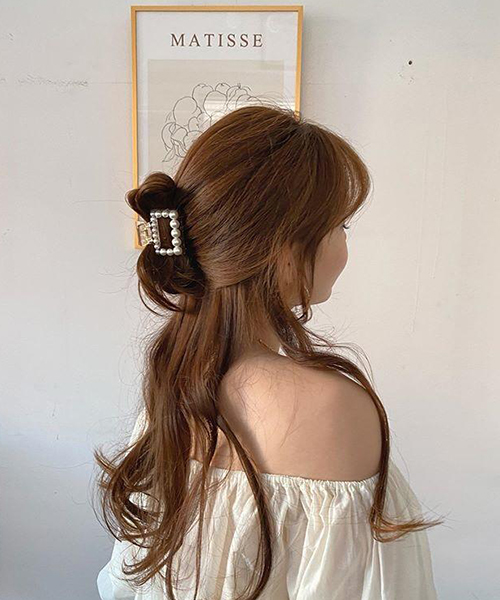 Mách nàng 4 kiểu tóc cực xinh chỉ với 1 chiếc kẹp càng cua - Ảnh 11