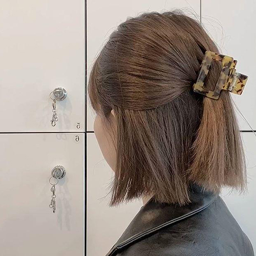 Mách nàng 4 kiểu tóc cực xinh chỉ với 1 chiếc kẹp càng cua - Ảnh 10