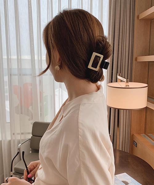 Mách nàng 4 kiểu tóc cực xinh chỉ với 1 chiếc kẹp càng cua - Ảnh 7