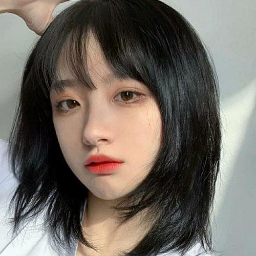 Những kiểu tóc tỉa layer cho mặt tròn thêm phần xinh xắn đáng yêu