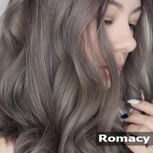 Nhuộm tóc màu nâu khói chuẩn bền đẹp