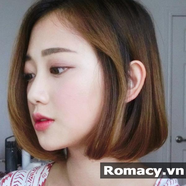 15 Kiểu tóc ngắn cho mặt dài 2018 đẹp Mê Ly