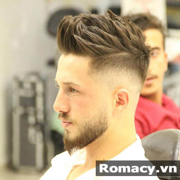 16 kiểu tóc nam phù hợp với mặt tròn đẹp nhất năm 2018