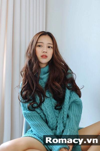 5 kiểu tóc uốn sóng đẹp 2019