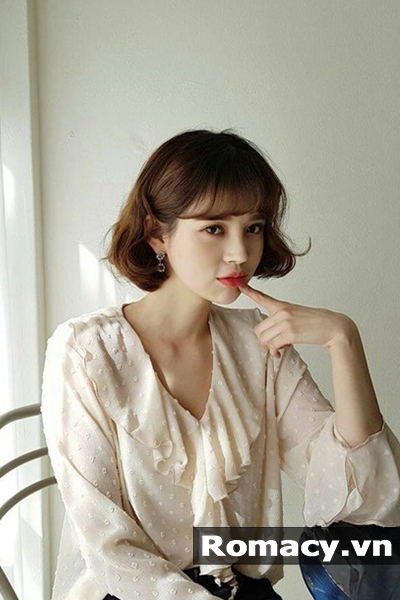 5 kiểu tóc uốn Hàn Quốc đẹp nhất hiện nay