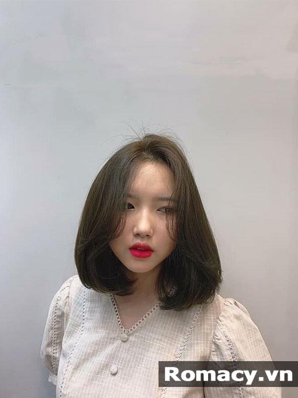 16 Kiểu tóc ngắn đẹp cho mặt tròn che khuyết điểm hoàn hảo