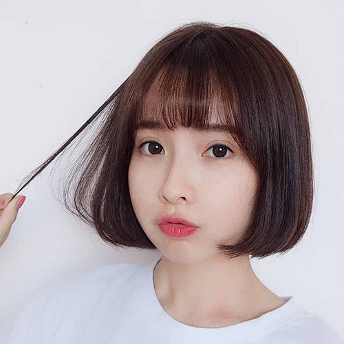 8 kiểu tóc ngắn mái thưa cho mặt dài đẹp giúp nàng trẻ ra cả chục tuổi