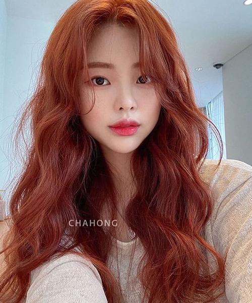 Khám phá những màu tóc đỏ cam cá tính cho cô nàng sành điệu