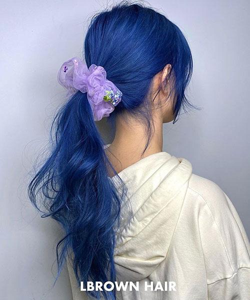 10 màu tóc xanh đẹp thời thượng nhìn là mê