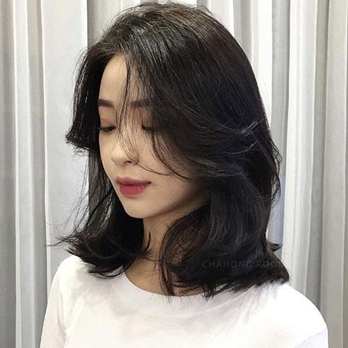 Các kiểu tóc duỗi cúp cứ để là đẹp