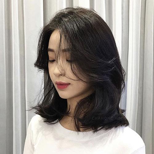 Các kiểu tóc cho mặt dài vừa xinh vừa sang lại che khuyết điểm hiệu quả