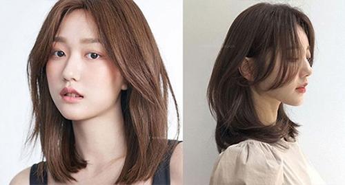6 kiểu tóc đẹp hô biến khuôn mặt vuông thon gọn tức thì