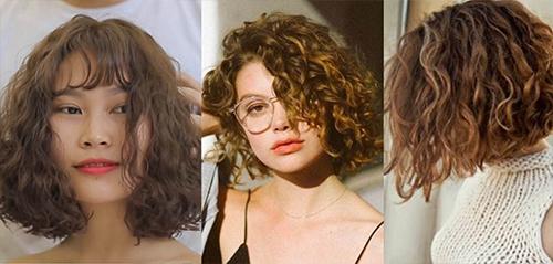 Bật mí 4 kiểu tóc xoăn xù mì đẹp trẻ trung cuốn hút