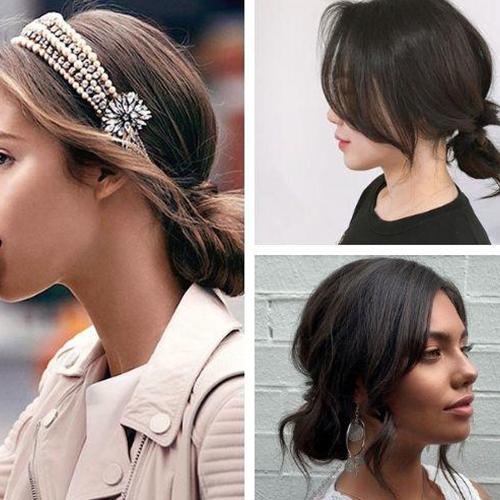 8 biến tấu vừa xinh lại vừa sang cho nàng tóc ngắn đi dự tiệc