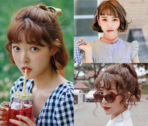 5 kiểu tóc ngắn mái ngố trẻ trung phù hợp từng khuôn mặt